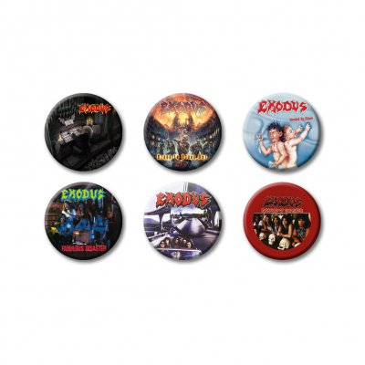 exodus - Discography | Button Set