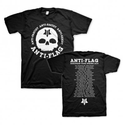 anti-flag - New Skull Tour 2019 | T-Shirt