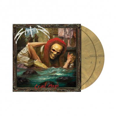 Satan - Cruel Magic | 2xDead Golden Marbled Vinyl