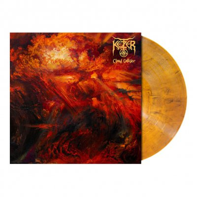 shop - Cloud Collider | Amber Marbled Vinyl