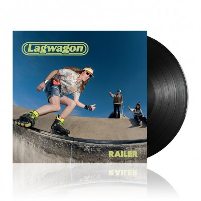 lagwagon - Railer | Black Vinyl