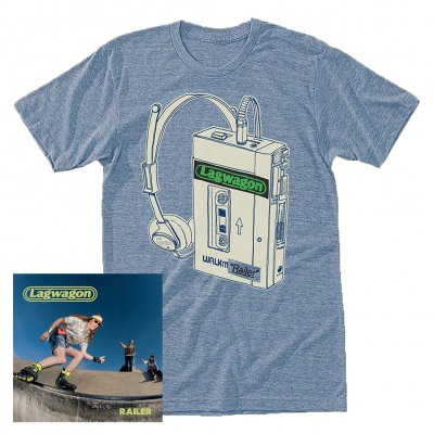 Lagwagon - Railer | CD + T-Shirt Bundle