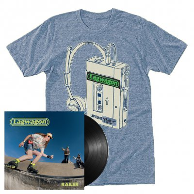 lagwagon - Railer | Black Vinyl + T-Shirt Bundle