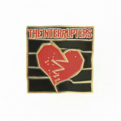 the-interrupters - Broken Heart | Enamel Pin