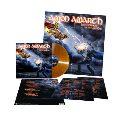 shop - Deceiver Of The Gods | Rusty Marbled Vinyl