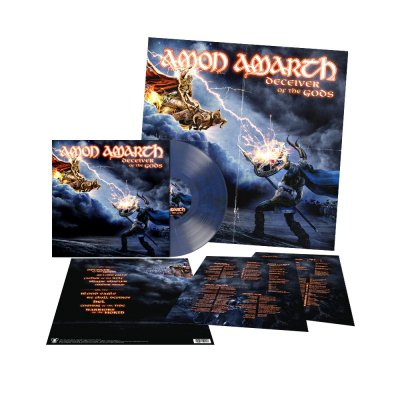 shop - Deceiver Of The Gods | Blue/Black Marbled Vinyl