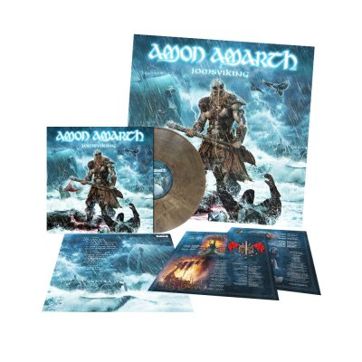 Amon Amarth - Jomsviking | Clear Grey/Brown Marbled Vinyl