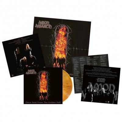 Amon Amarth - Once Sent From The Golden Hall | Opaque Orange Vin