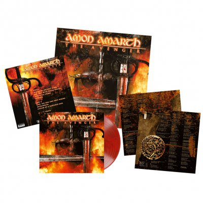 shop - The Avenger | Bloodred/Black Marbled Vinyl