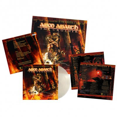 Amon Amarth - The Crusher | Clear Vinyl