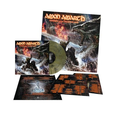 Amon Amarth - Twilight Of The Thunder God | Olive-Green Marbled
