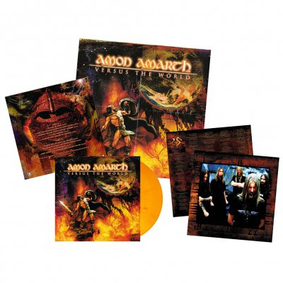 Amon Amarth - Versus The World | Orange Red Marbled Vinyl