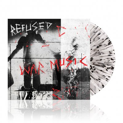 shop - War Music | Clear w/Black Splatter Vinyl