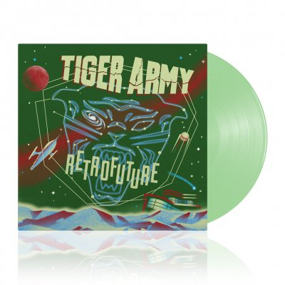 Tiger Army - Retrofuture | Seafoam Green Vinyl