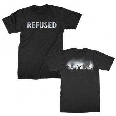 refused - Live Photo Black | T-Shirt