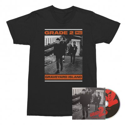 Grade 2 - Graveyard Island | CD + T-Shirt Bundle