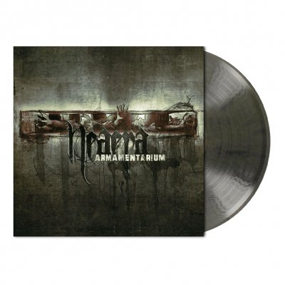 shop - Armamentarium | Clear/Black Marbled Vinyl