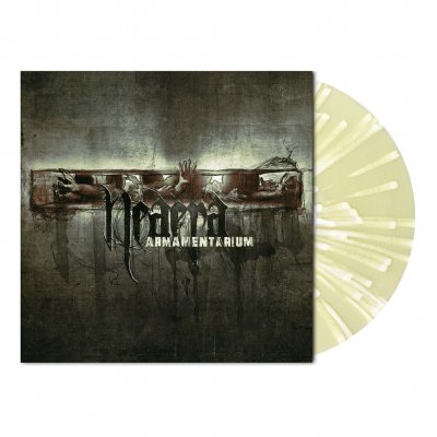 shop - Armamentarium | Yellow/White Splatter Vinyl