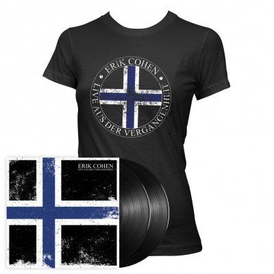Erik Cohen - Live aus der Vergangenheit | LP + Girl T-Shirt Bundle