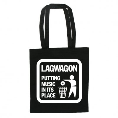 Lagwagon - Putting Music | Tote Bag