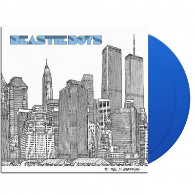 shop - To The 5 Boroughs | 2x180g Blue Vinyl