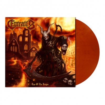 Entrails - Rise Of The Reaper | Clr Orng/Prpl Mrbld Vinyl