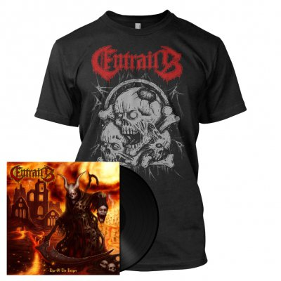 Entrails - Rise Of The Reaper | 180g Black Vinyl Bundle