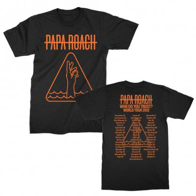 Papa Roach - WDYT Drowning Icon World Tour 2019 | T-Shirt