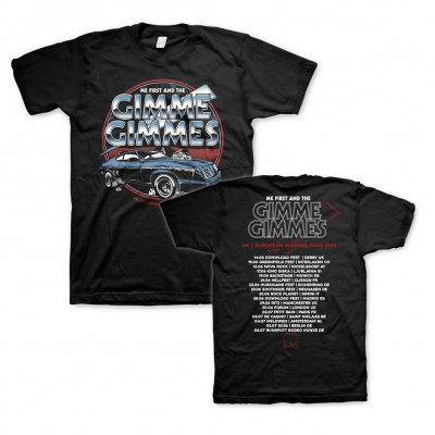 Me First And The Gimme Gimmes - Eurocar Tour | T-Shirt