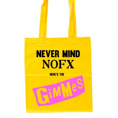Me First And The Gimme Gimmes - Never Mind | Tote Bag