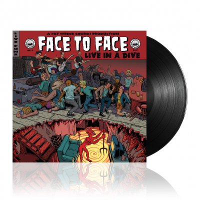 face-to-face - Live In A Dive | Black Vinyl
