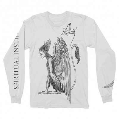 shop - Spiritual Instinct White | Longsleeve