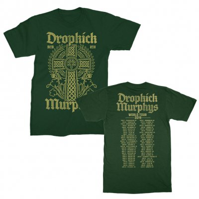 dropkick-murphys - Celtic Cross World Tour 2019 | T-Shirt