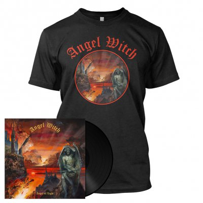 Angel Witch - Angel Of Light | 180g Black Vinyl Bundle