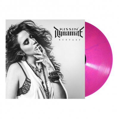 shop - Ecstasy | Bubblegum Pink Marbled Vinyl