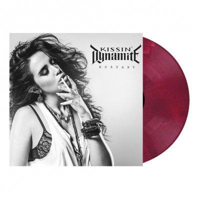 Kissin' Dynamite - Ecstasy | Burgundy Velvet Marbled Vinyl