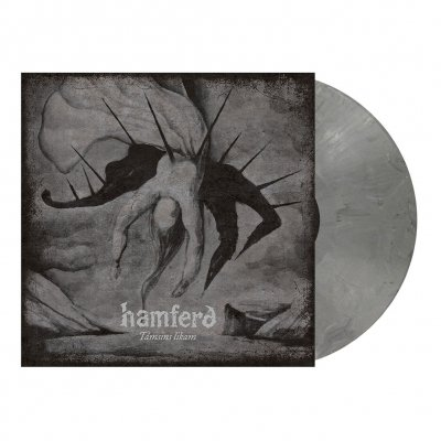 Támsins Likam | Dark Grey Marbled Vinyl
