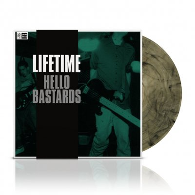 Lifetime - Hello Bastards | Clear w/Black Vinyl
