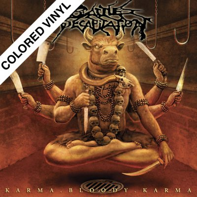 Cattle Decapitation - Karma Bloody Karma | Orange/Red Vinyl