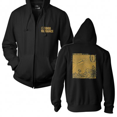 shop - Thoughts And Prayers Black | Zip-Hood