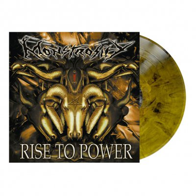 Rise To Power | Yellow Ochre/Black Marbled Vinyl