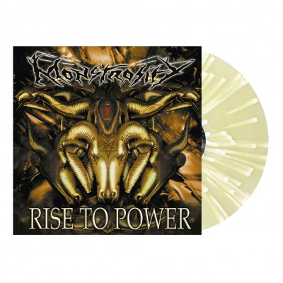 Monstrosity - Rise To Power | Clear Yellow/White Splatter Vinyl