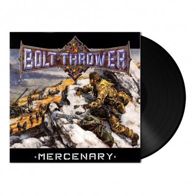 Bolt Thrower - Mercenary | 180g Black Vinyl