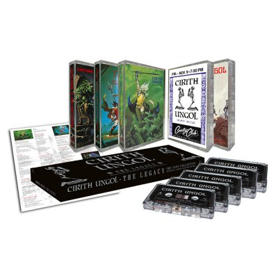 Cirith Ungol - The Legacy-Tape Collection | 5xTapes Box