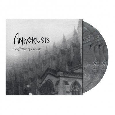 shop - Suffering Hour | 2xDark Grey Marbled Vinyl
