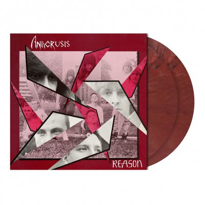 Anacrusis - Reason | 2xBurgundy Red Marbled Vinyl