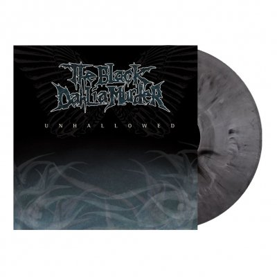 the-black-dahlia-murder - Unhallowed | Silver/Black Marbled Vinyl