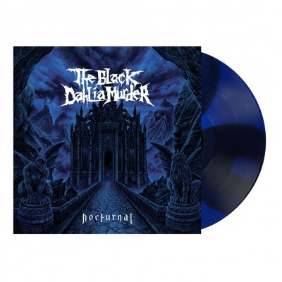 the-black-dahlia-murder - Nocturnal | Blue/Red Split Colored Vinyl