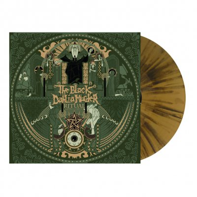 shop - Ritual | Gold/Black Splatter Vinyl
