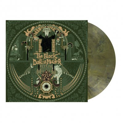 the-black-dahlia-murder - Ritual | Olive Green Marbled Vinyl